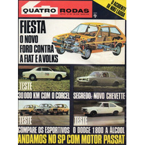 Quatro Rodas Nº193 Agosto 1976 Passat Ts Chevette Gp Corcel