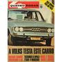 Quatro Rodas Nº130 Maio 1971 Opala 2500 4m Mach Jaguar