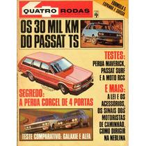 Quatro Rodas Nº216 Julho 1978 Perua Maverick Passat Surf Ts