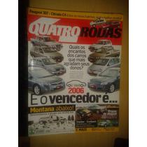 Revista Quatro Rodas N°560 Peugeot 307 X Citroen C4 -mustang