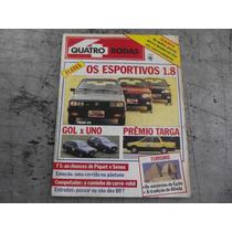 Quatro Rodas Fev 1986 Passat Gts Monza Sr Gol Gt