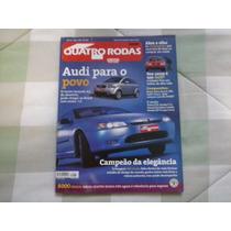 Lote 4 Revistas Quatro Rodas Ano 2000 E 2001