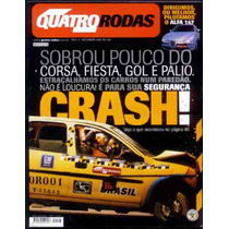 4rodas N.484 Dez 2000 - Alfa 147 - Testes Crash