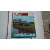 5° Coleção De Mapas Turisticos Quatro Rodas Willys