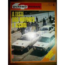 Revista 4 Rodas Teste Fiat 147 Passat Alcool Motor Quatro Vw