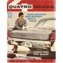 Revista Quatro Rodas Nº 6 Janeiro De 1961 - Mapa Colorido