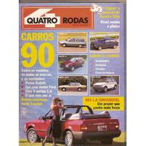 Revista Quatro Rodas - Carros 90
