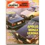 4rodas N.360 Jul 90 - Apollo X Monza X Verona - A.senna