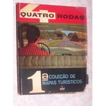 Quatro Rodas 1ª Coleção Mapas Turisticos Willys 1960