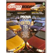 Revista Quatro Rodas - Prova Dos Oito. Palio E Gol