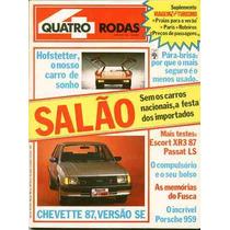 4rodas N.314 Nov 86 - Especial Salão Do Automóvel 86