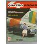 Revista 4 Quatro Rodas N°9 Abril 1961 Karts Ghia R401