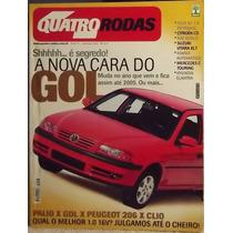 Quatro Rodas 496 Nov/01 Gol Palio 206 Clio A3 C5 Doblô Marea