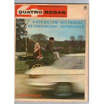 Revista 4 Quatro Rodas 75 Outubro 1966 Carros Antigos R416