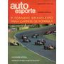 Revista Auto Esporte Vol.75 Janeiro 1971 Torneio Carros R403