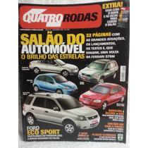 Quatro Rodas 507 Out/02 Salão/ Astra/ Polo/ Ecosport/ Polo