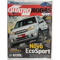 Quatro Rodas 571 Nov/07 Ecosport/ Punto/ L200 Triton/ Tiguan