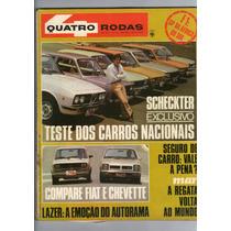 Revista 4 Quatro Rodas N°212 Março 1978 Scheckter Fiat R409