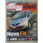Quatro Rodas #575 Ano 2008 Novo Honda Fit