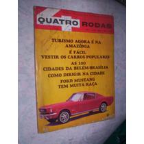 Quatro Rodas N 61 Ford Mustang 1965