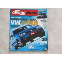Revista Quatro Rodas Dezembro 2001 - Polo Gol Civic Focus