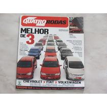 Revista Quatro Rodas 533 - Citroen Kia Clio Corsa Gol Palio
