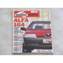 Revista Quatro Rodas 361 Agosto 1990 - Alfa Romeo Escort Gol