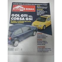 Revista Quatro Rodas Gol Gti Corsa Gsi Mitsubishi Eclipse Gs