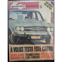 Revista Quatro Rodas 130 Mai/71 - Opala Volks Mach Jaguar