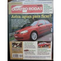 Revista Quatro Rodas 458 Set/98 Astra Golf Bravo Gol Parati