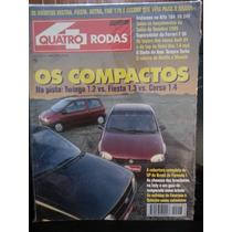 Revista Quatro Rodas 417 Abr/95 Twingo Fiesta Corsa Audi-a4