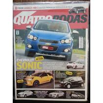 Revista Quatro Rodas 631 Jun/12 - Sonic Jac-j12 Edge Citroen