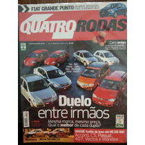 Revista Quatro Rodas 549 Fev/06 Celta Fox Gol Idea Punto ...