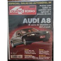 Revista Quatro Rodas 411 Out/94 Audi-a8 Corsa Corolla Tempra