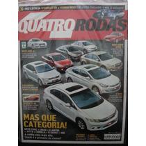 Revista Quatro Rodas 626 Jan/12 Sedãs Hyundai-hb Audi-a4...