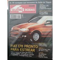 Revista Quatro Rodas 425 Dez/95 Fiat Salão Audi-a4 Corsa...