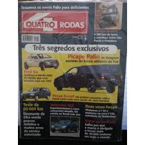 Revista Quatro Rodas 434 Set/96 Picape-palio Ka Perua-escort