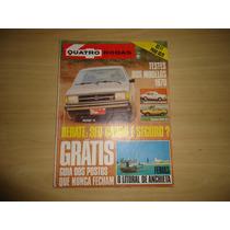 Revista Quatro Rodas Nº.222,226,231,233 Ano79 Envio Grátis