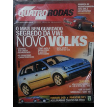 Revista Quatro Rodas 493 Ago/01 - Polo Zafira Gol Golf Brava