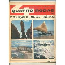 *sll* Revista Quatro Rodas 2. Coleção De Mapas Turísticos