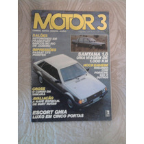 Revista Motor 3 - Nº 41 - Nov/1983 - Escort Ghia - 5 Portas