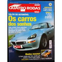 Revista Quatro Rodas Salão Do Automóvel 2000