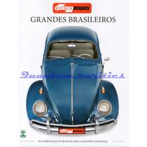 Revista Quatro Rodas Grandes Brasileiros 49 Carros Nacionais