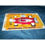 Autorama Estrela-figura Base Ferrari Nick-lauda Fittipaldi
