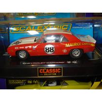 Scalextric Camaro Z28 Maurice Carter Nº88 Raríssimo Autorama