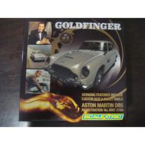 Scalextric Aston Martin Db5 J Bond 007 Goldfinger Raríssimo