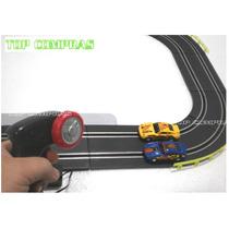 Autorama Pista De Corrida Elétrico C/ 2 Carrinhos Controles
