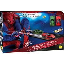 Pista Elétrica Spider Man Spider Wall Autorama Yellow