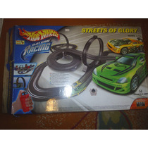 Lote De Peças De Autorama Hot Wheels - Streets Of Glory