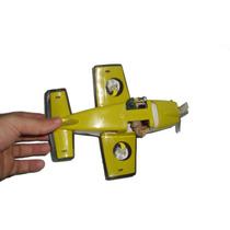 Avião Brinquedo Comandos Ação Gi.joe 2 Soldados Miniatura